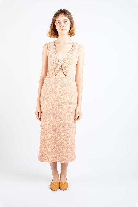 aff903471d0c ... Paloma Wool Chambao dress - red micro plaid