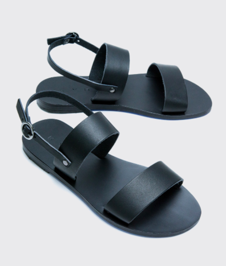 KYMA Mykonos Sandal - Black