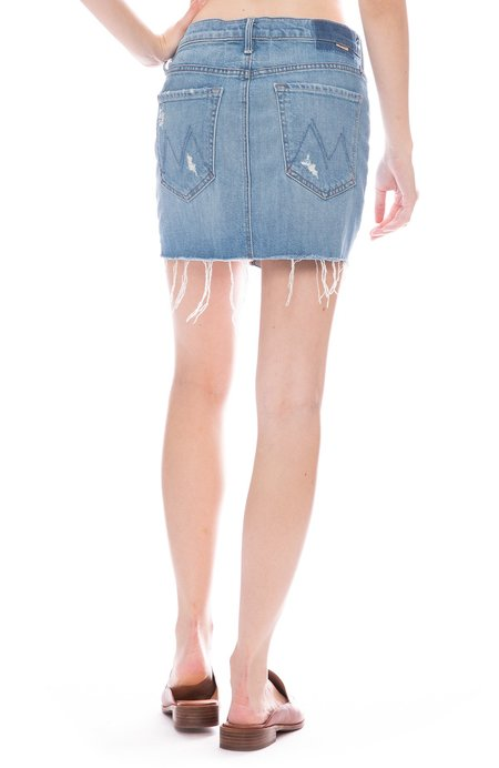 2226f9c5a6 Mother Denim Vagabond Mini Skirt - Destroyed Bills ...