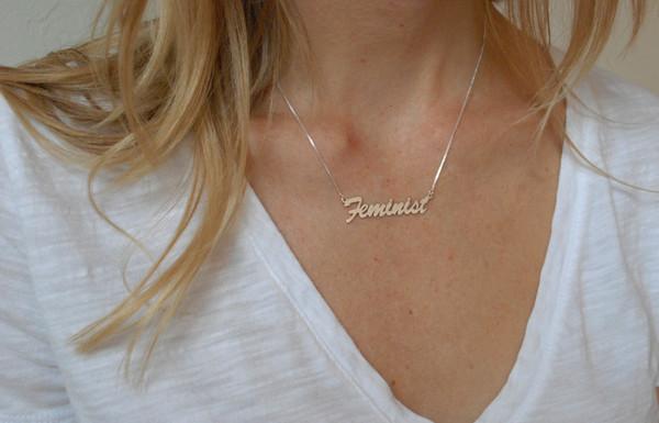 "BNN ""Feminist"" Necklace"