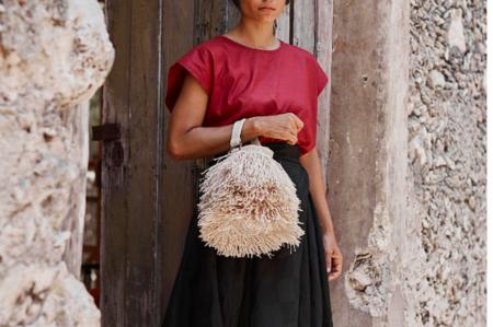 Angela Damman Small Bruja Bucket Bag