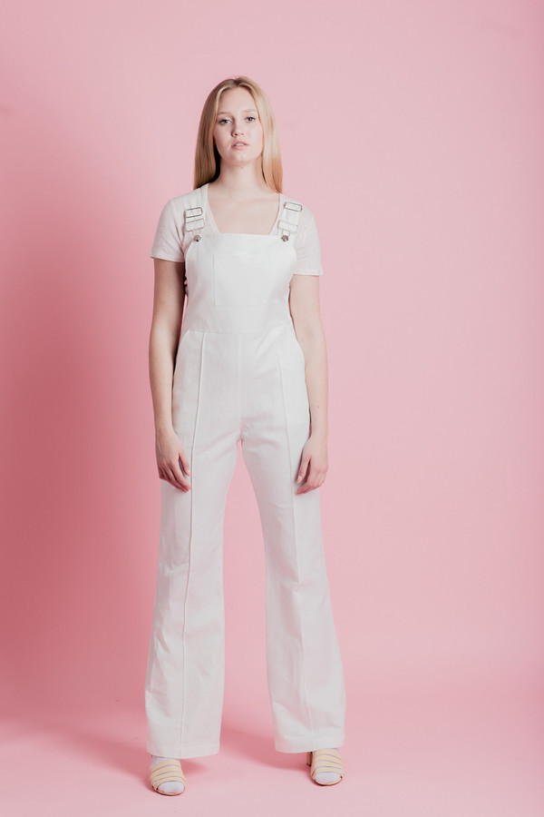 HORSES ATELIER HIGH-WAISTED OVERALLS