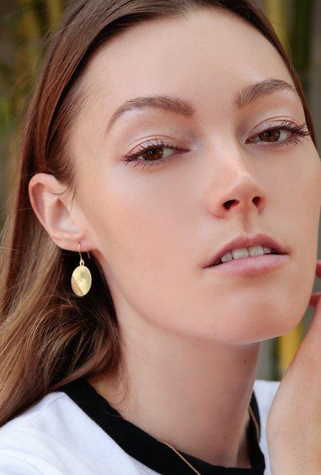 Ak Studio Monolith Earrings - 14k Gold Fill