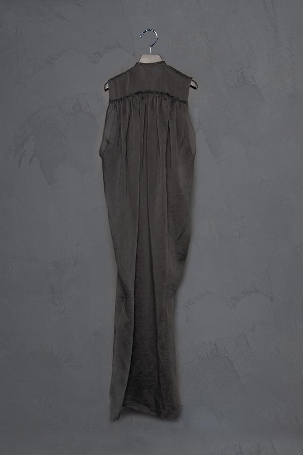 Isabel Benenato Sheer Sleeveless Tunic