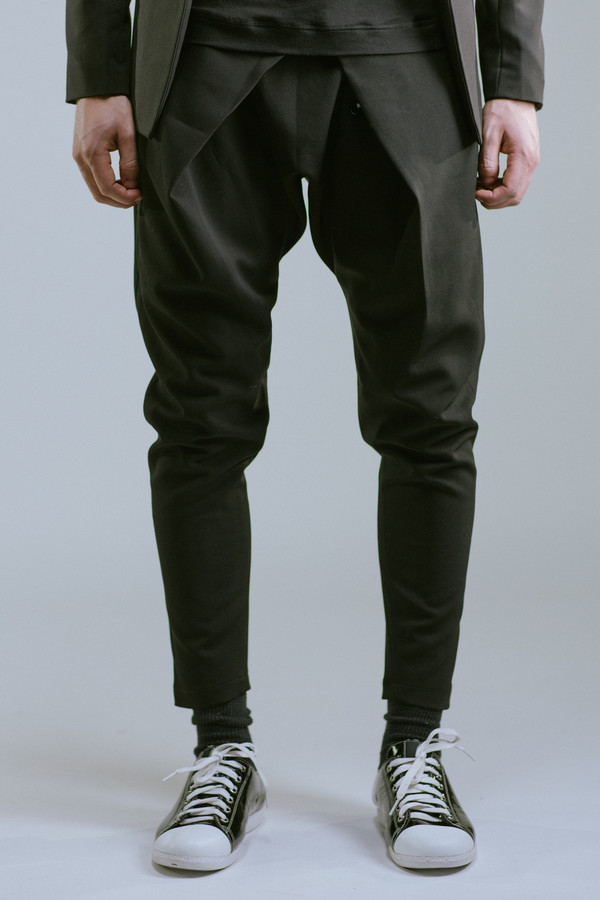 Any Old Iron Drop Crotch Trouser