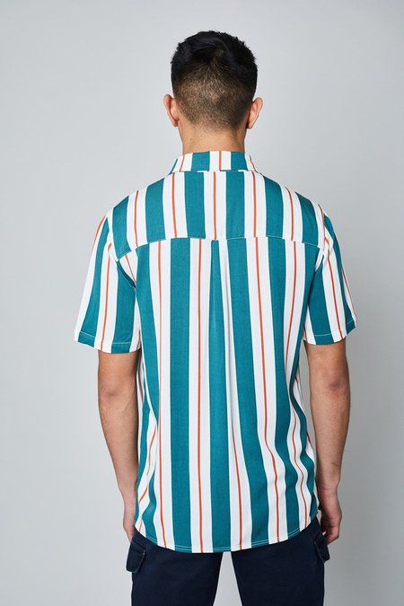 Native Youth THE LAFERTY SHIRT - teal
