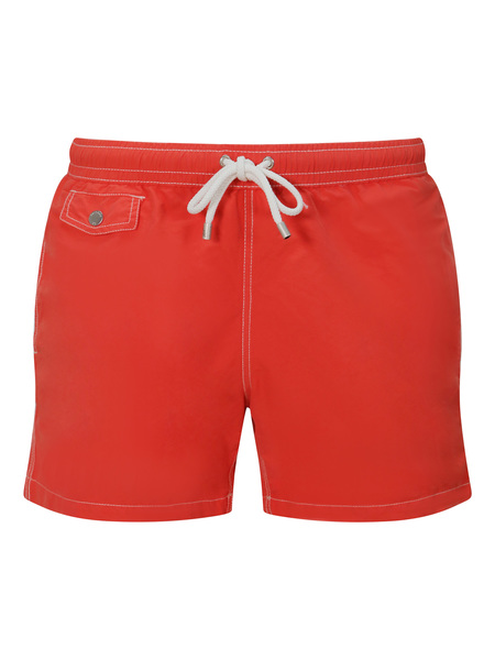 Hartford Boxer Swim Short - Orange