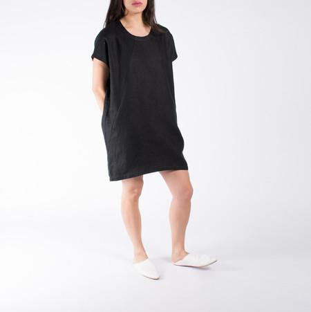 Hoi Bo Linen Mini Dress
