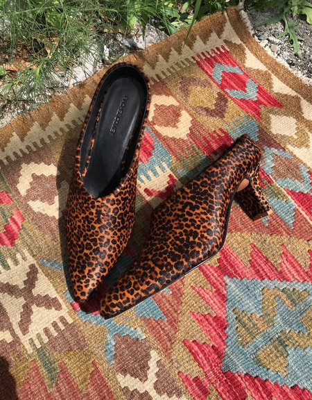 Rachel Comey Alder Mule - Leopard