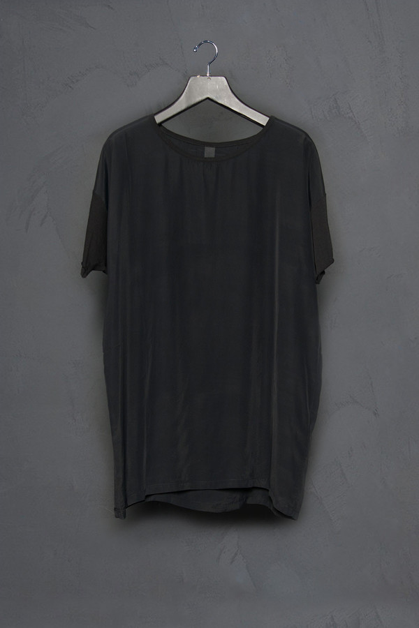 Roque Crew Neck Silk Tee