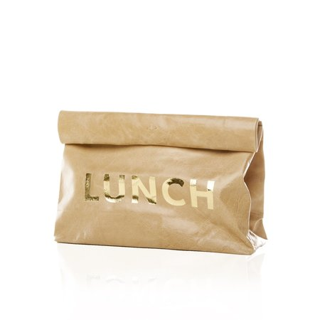 Marie Turnor The Lunch - Gold Print