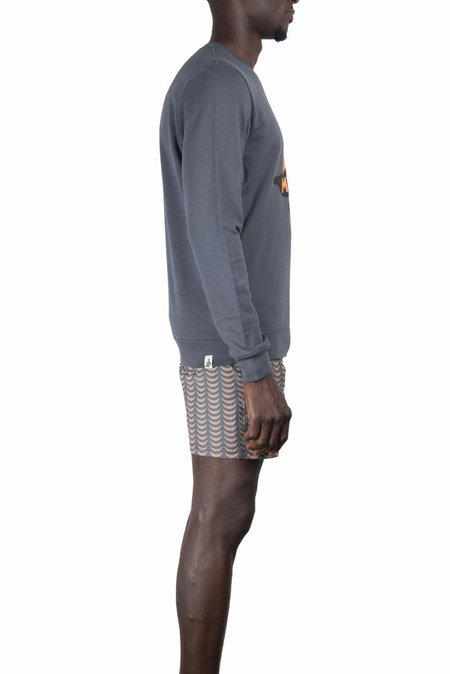 Mami Wata Banana Sweatshirt - Charcoal