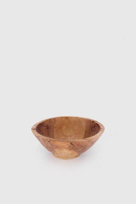 asili Reclaimed Bowl Large - Olive Wood