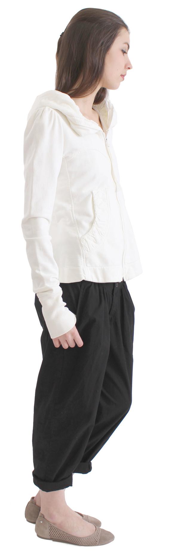 Prairie Underground Cloak Hoodie in White