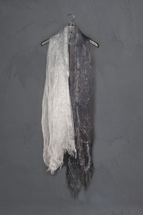 Faliero Sarti Silver Thread Dionisio Ombre Scarf