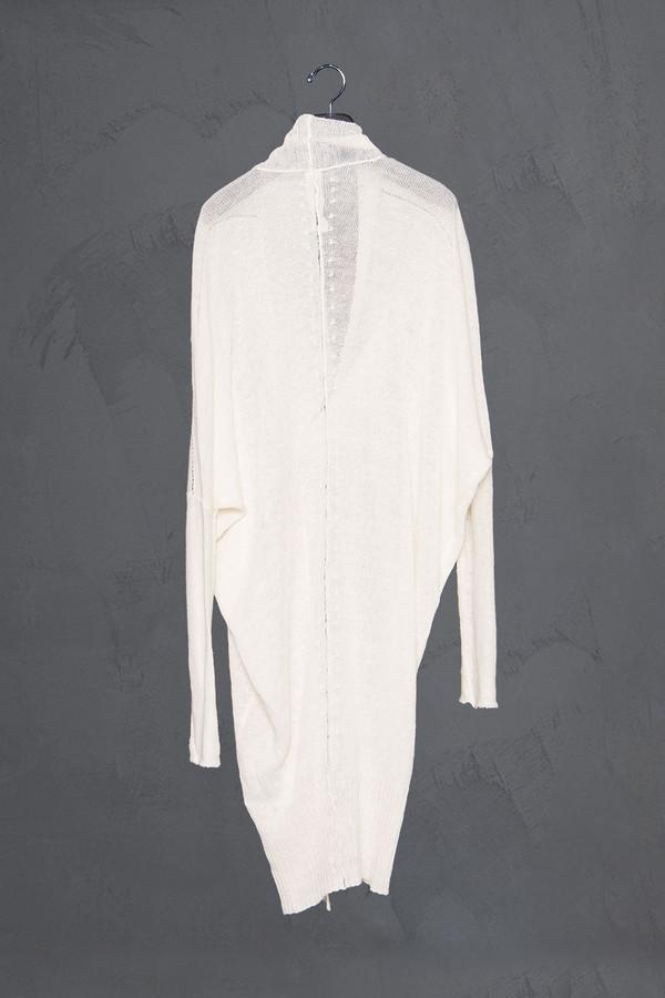 Isabel Benenato Linen Cocoon Sweater