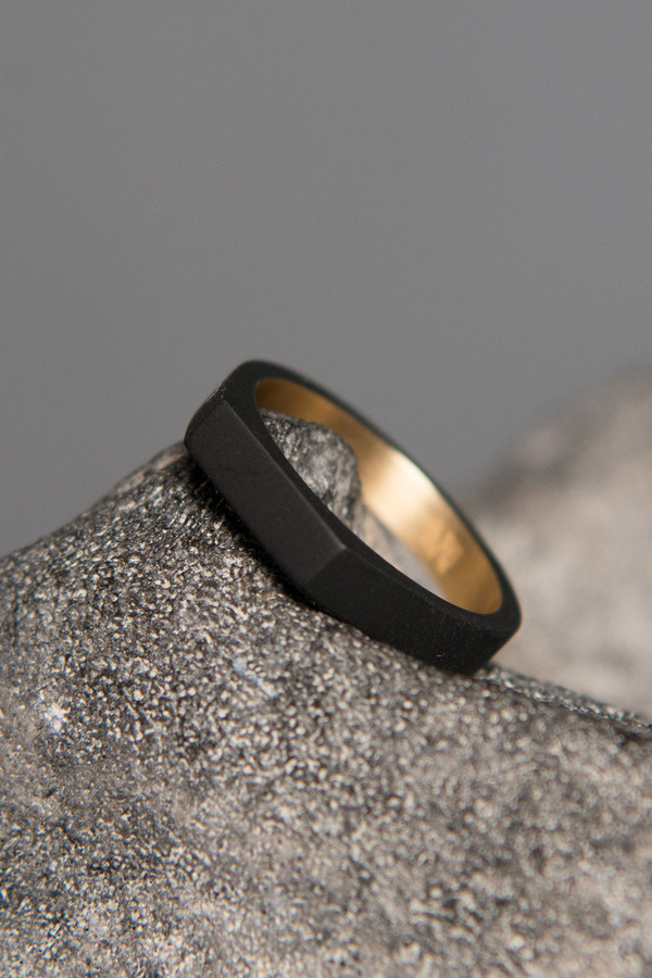 Ming Yu Wang Theorem Matte Thin Ring