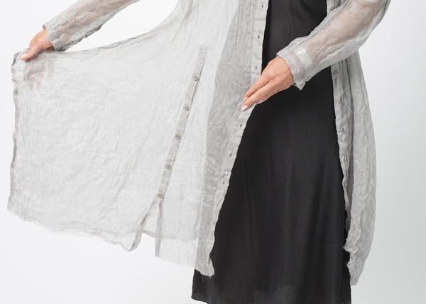Rundholz Sheer Linen Blend Dress