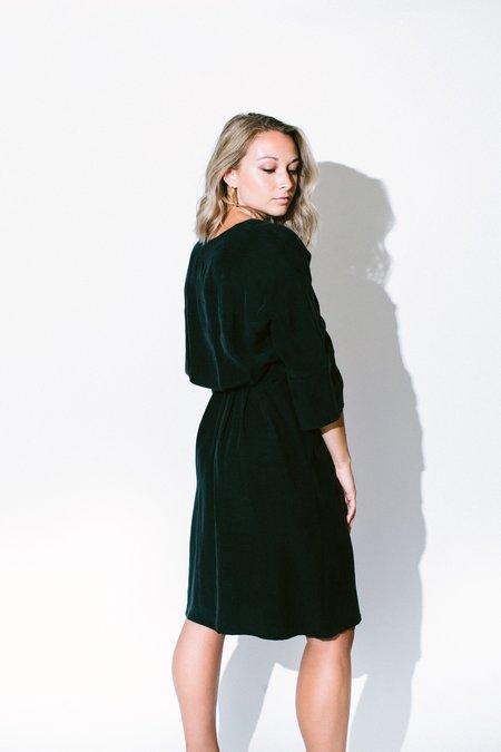 Eve Gravel Les Deux Voix Dress - Black