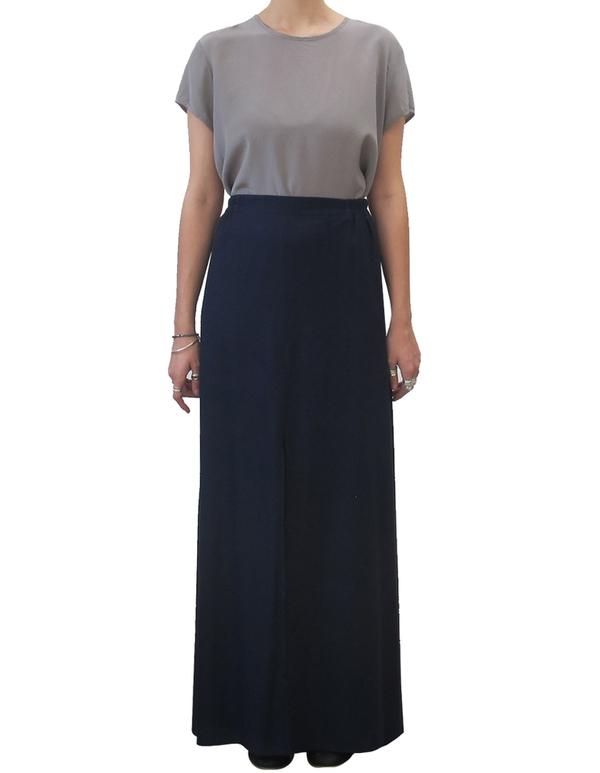 Ali Golden Black Maxi Skirt