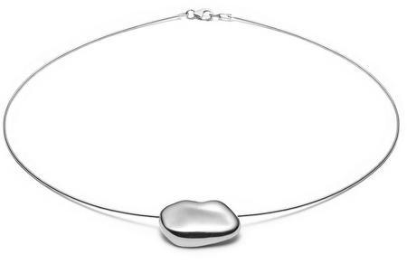 Nina Janvier Arp II Short necklace - Silve