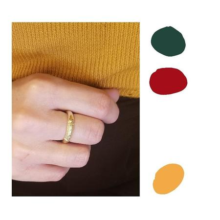 Nina Janvier Maïa ring - sterling silve