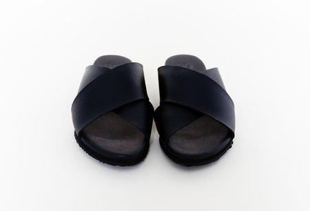 Good Guys Don't Wear Leather The Kriss Sandal - black