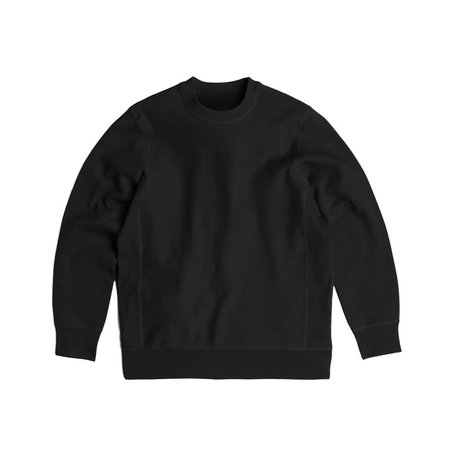 Robertson's Co. Standard Issue Crewneck - Black