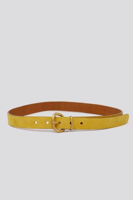 Rachel Comey Thin Estate Belt - Yellow