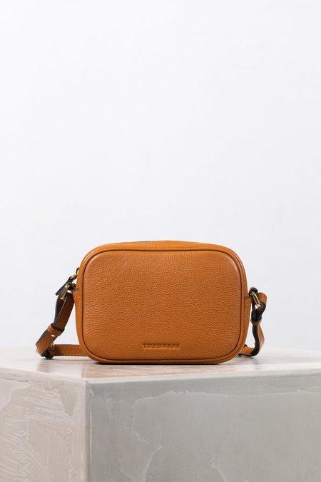 The Horse Crossbody Leather Bag - Tan