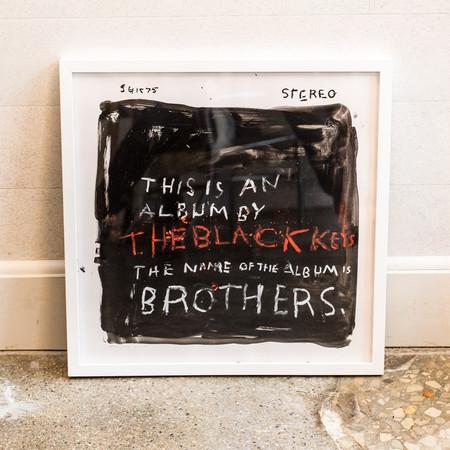 Kerry Smith Black Keys Album Cover Painting