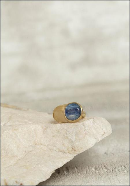 Seaworthy Brass and Stone Power Ring