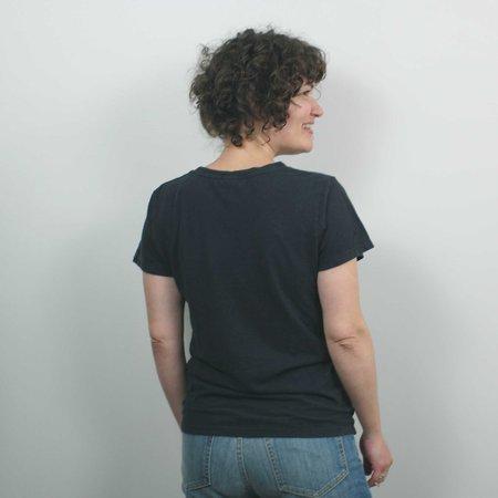 Jungmaven Lorel Crew T Shirt - Black