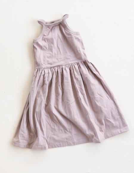 Kids Millk Basic Dress - Lavender