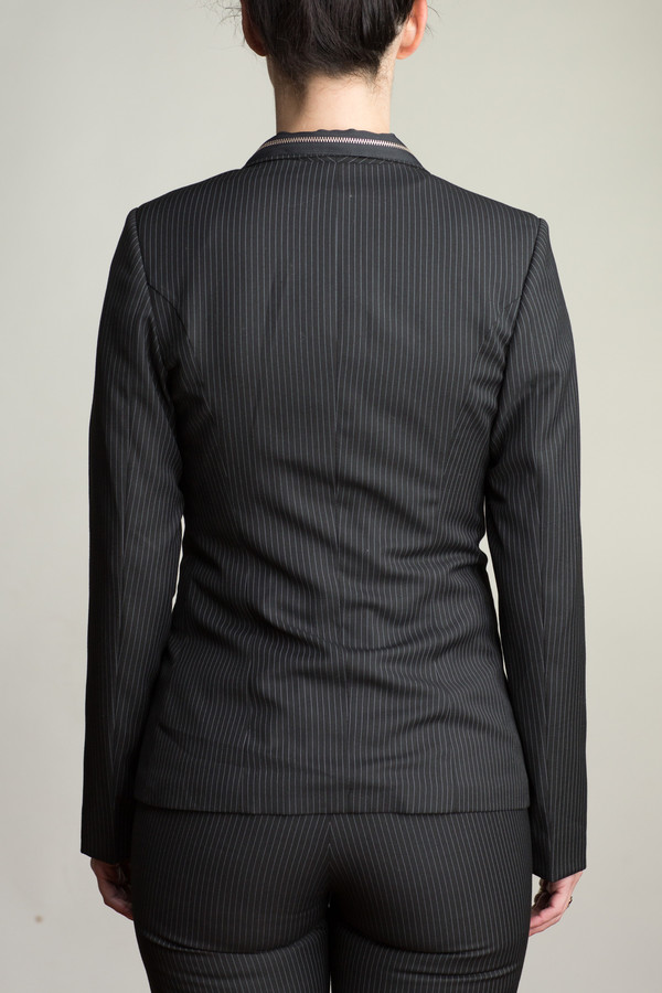Any Old Iron 3 Piece Pin Stripe Zip Suit