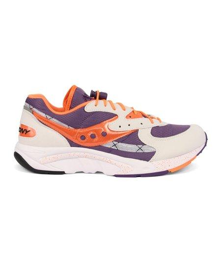 Saucony Aya Sneaker - Purple/Orange