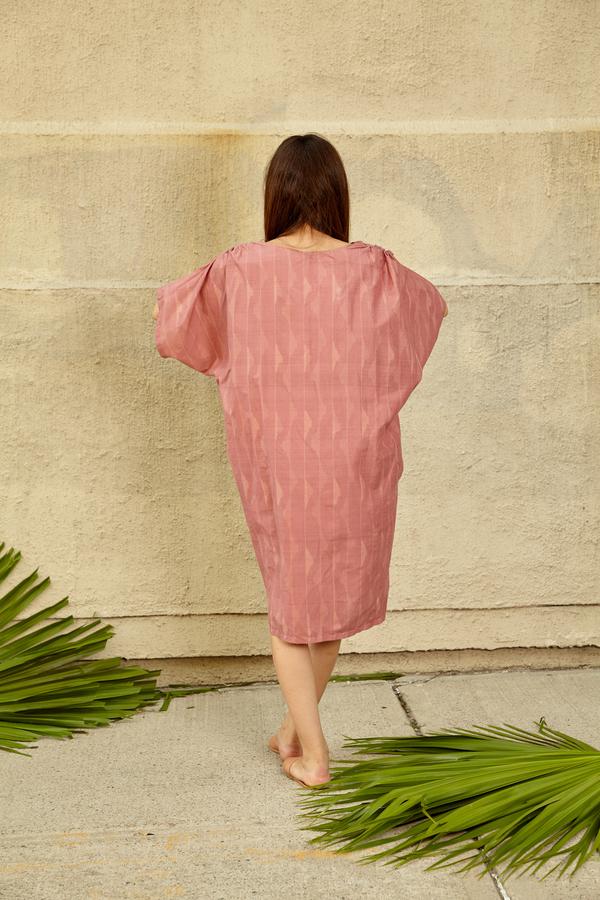 Tantuvi Cocoon Caftan Dress- Dunescape