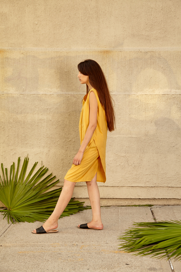 Tantuvi Wrap Dress- Sunray
