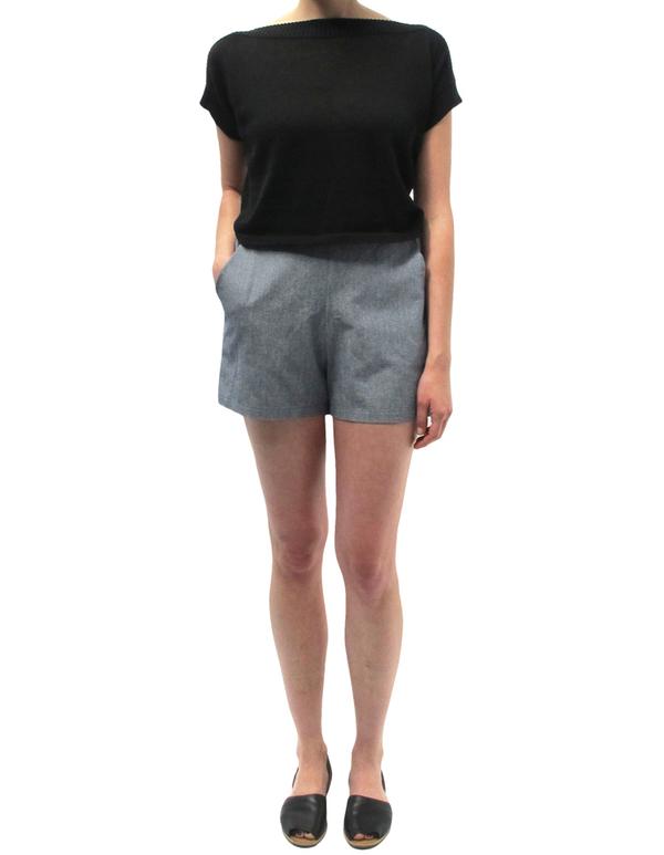 Ali Golden Chambray Shorts
