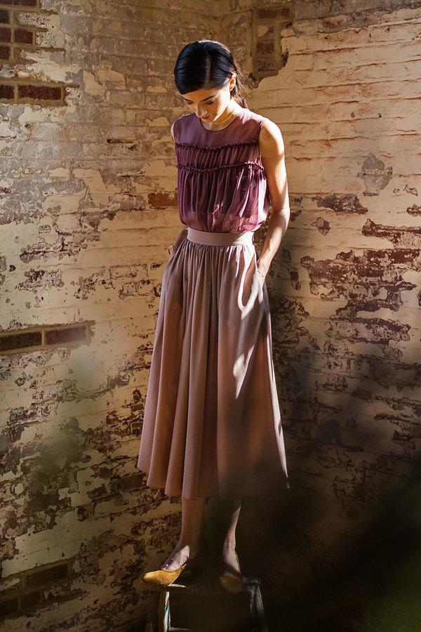 Plante Rose Skirt (Preorder)