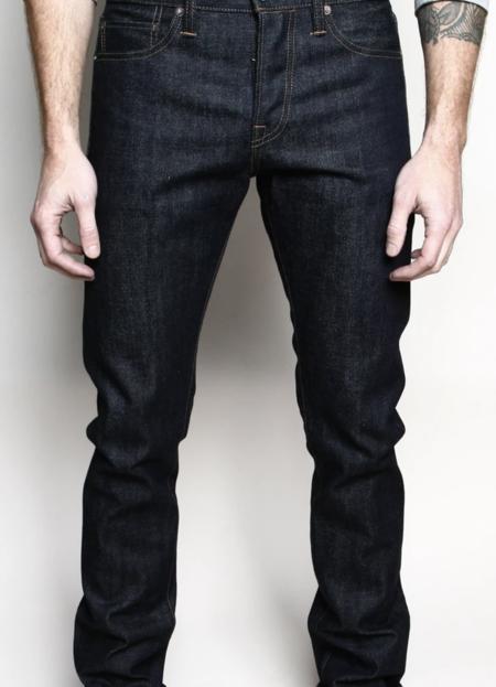Rogue Territory 15oz Indigo Slim Straight Jeans