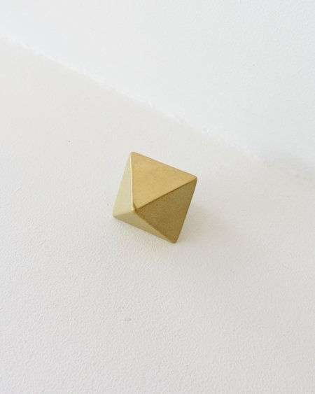 FUTAGAMI Brass Paper Weight - Triangle