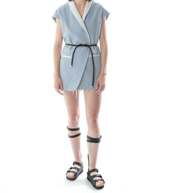 3.1 Phillip Lim Cadet Blue Asymmetric Vest