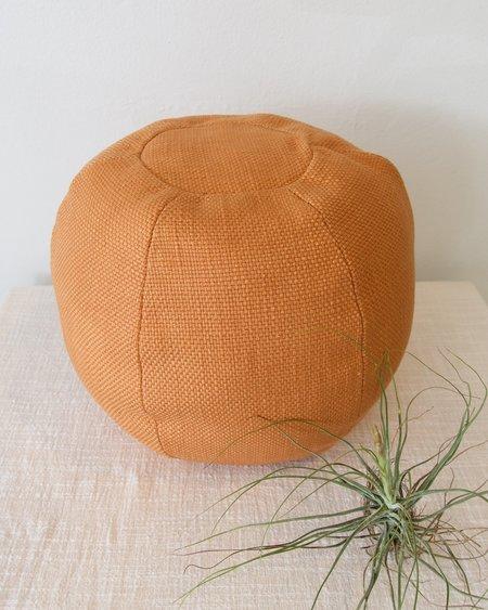 Klay Cotton Globe Cushion - Apricot Brown