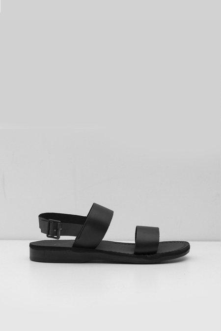 Jerusalem Sandals Leather Golan Sandal - Black