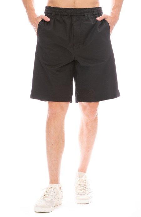 AMI Oversized Track Shorts - NOIR