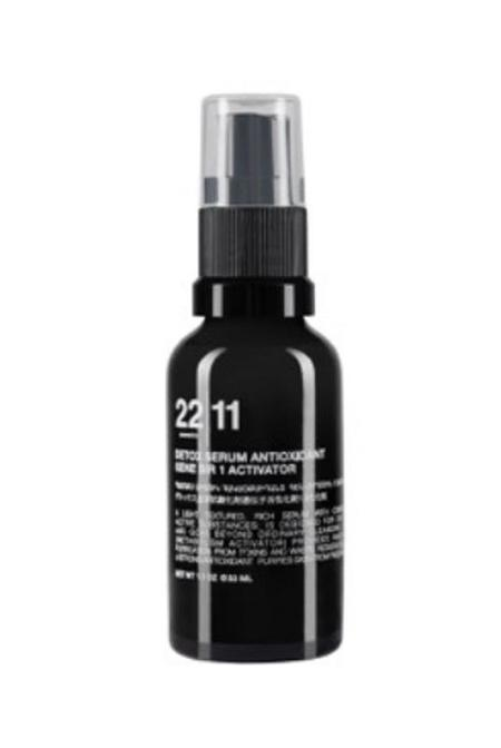22|11 Cosmetics Detox Serum Antioxidant Gene Sir 1 Activator - 33mL