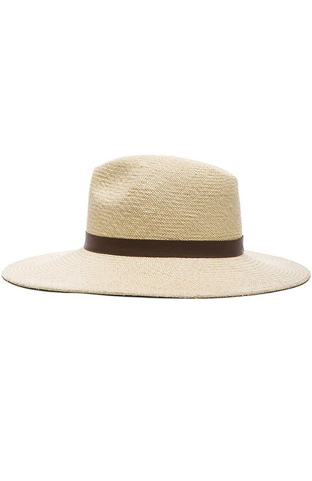Janessa Leone Gloria Hat - CREME