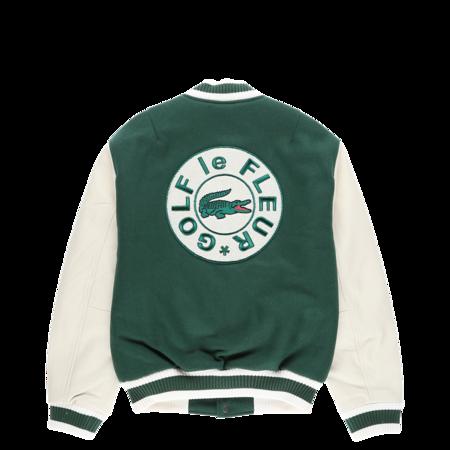 Lacoste GOLF le FLEUR* x Letterman Jacket - Vert/Geode