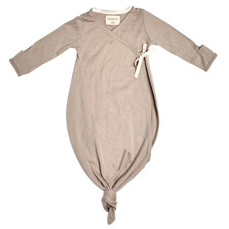 Kids bacabuche kimono gown + beanie - fawn
